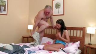 Grandpa having sex
