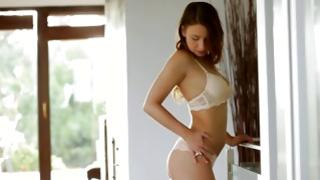 Whorish moll is sexy revealing her being