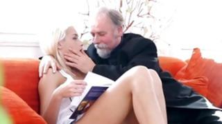 You've to observe this gf porn where a blonde come by eating out