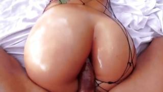 Slut in netting got her passionately leaked