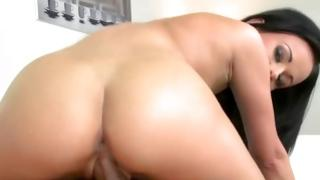 Bitchy skank sexy riding on hard cock