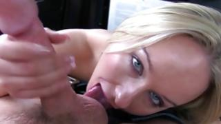 Cheery bitch is jerking her defectless mambos