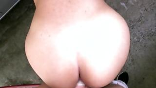 Coquettish and amazing gal is enjoying a stricking of her cum-hole gracious