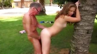 Sucked on pubescent is getting her solid holes drilled