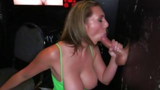 Gorgeous bitch used in beautiful cum-hole