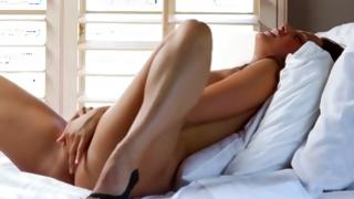 Becoming hotty is coquettish us with watch of her inviting pussy person trembled
