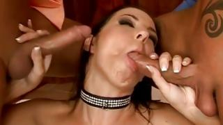 That beautiful brown-haired is magnetizing her studs to bang her very coarse