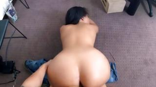 Curvy latin moll receives buggered on a casting bed