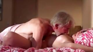 Nice-looking looking maid got her mouth fucked and cookie fucked