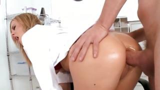 Supreme floosie with wicked anal opening has valuable sweetmeat up the ass ramming