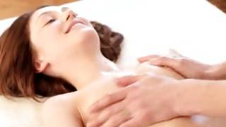Marvelous slut is riding horny on his large sausage