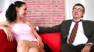 Breasty cutie is moaning while fucked insanely