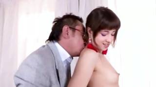 Splendid young gf is poured naughty hard