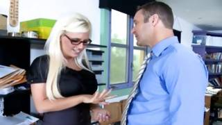 Excellent blonde sexy gf is observed by guy