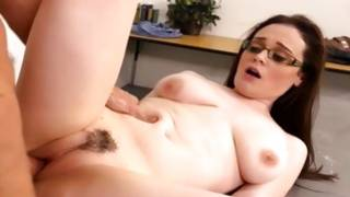Long haired sexy bitch is talking to wicked man