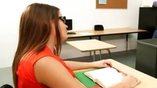 Watch naughty porn where girl watching on teacher