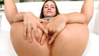 Perfect young gf is jerking his monstrous pecker