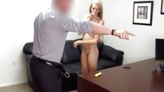 Long legged furious slut is relaxing sexually on the sofa