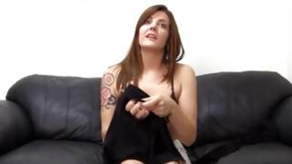 Furious gf is bending while horny poured