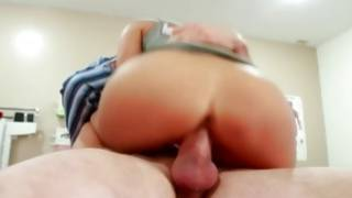 Filthy Chinese doctor is undressing in the ward