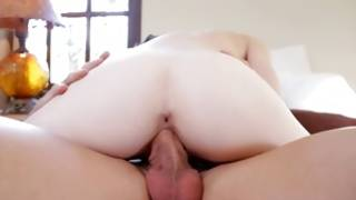 Long haired naughty slut looks kinky while observed