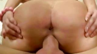 Sensuous lusty bitch is getting her drilled with the sinewy cute dick