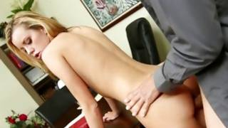 Blondie acquires her fucked with hard knob